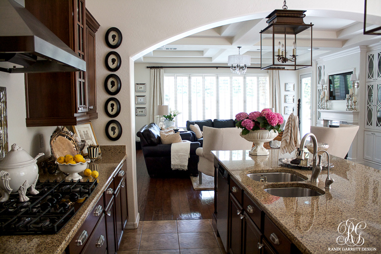 Randi Garrett Design Kitchen and Family Room