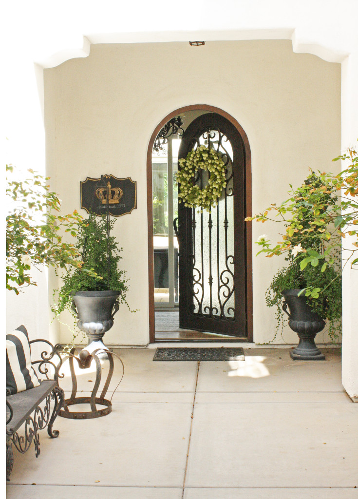 Welcome home to randi garrett design randi garrett design for Portico frontale di design online