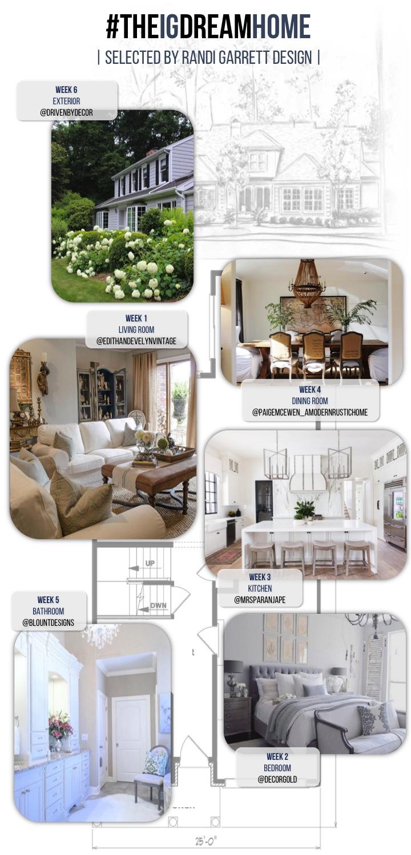 The IG Dream Home Design Challenge Randi Garrett Design - Dream home design