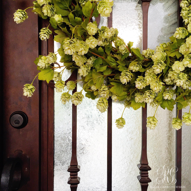 Spring wreath by Randi Garrett Design