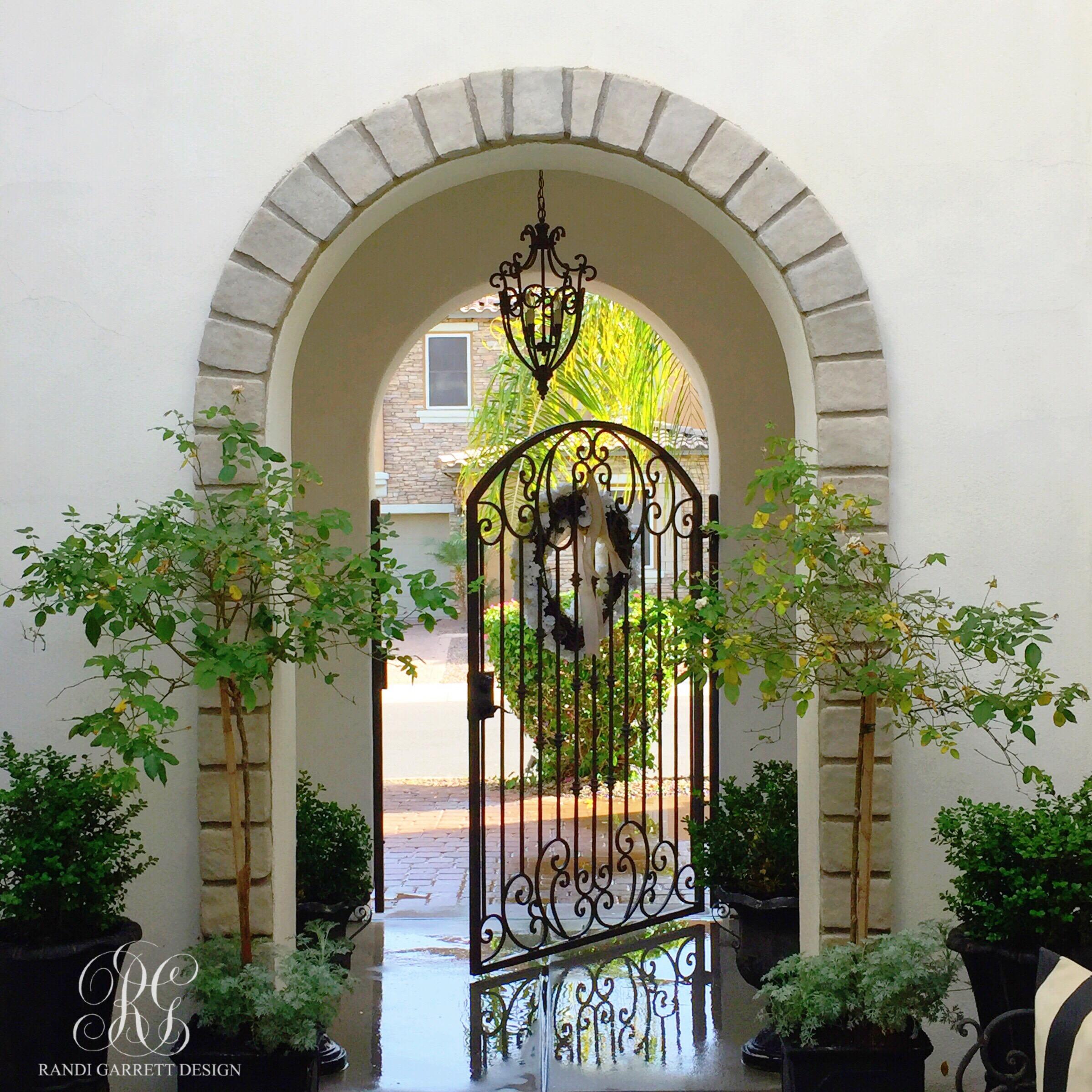 How to freshen your porch for spring by Randi Garrett Design