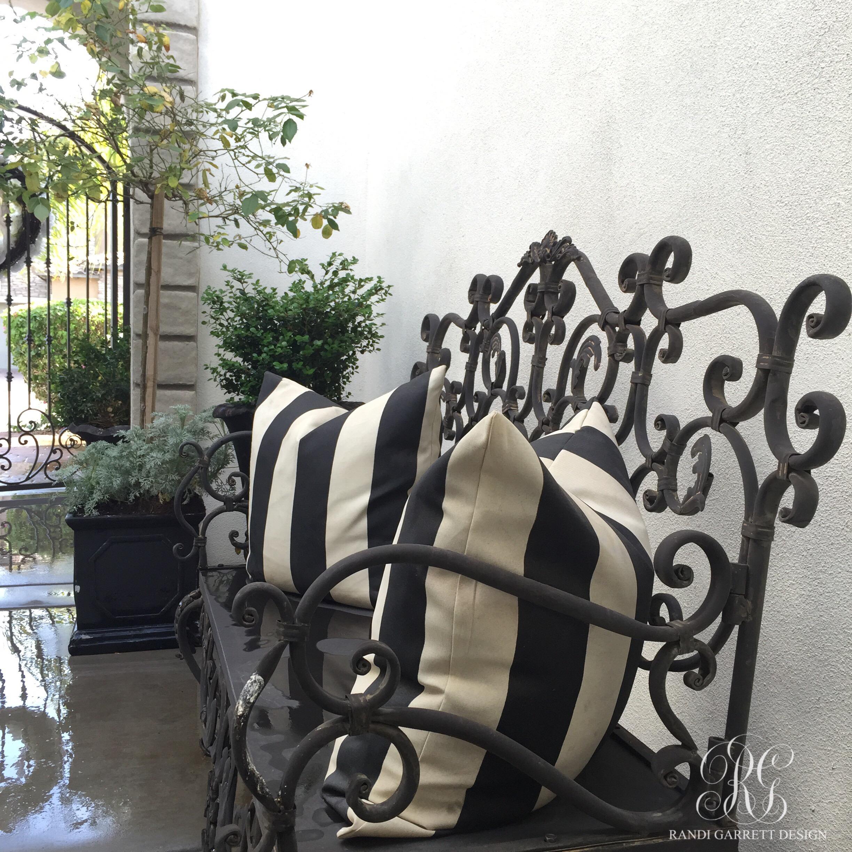Spring front porch by Randi Garrett Design