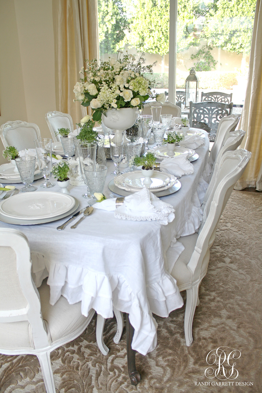 Romantic Easter Tablescape By Randi Garrett Design