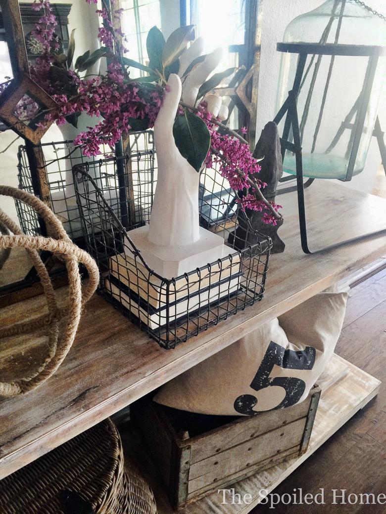 The Spoiled Home white vase challenge
