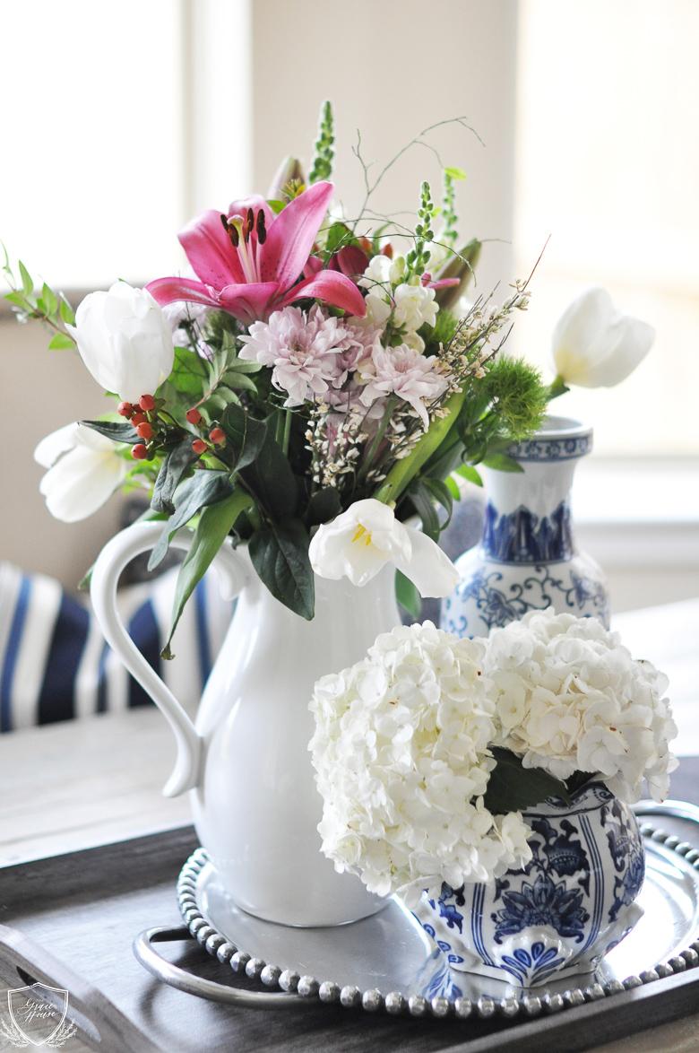 The Grace House white vase challenge, 15 ways to style a white vase