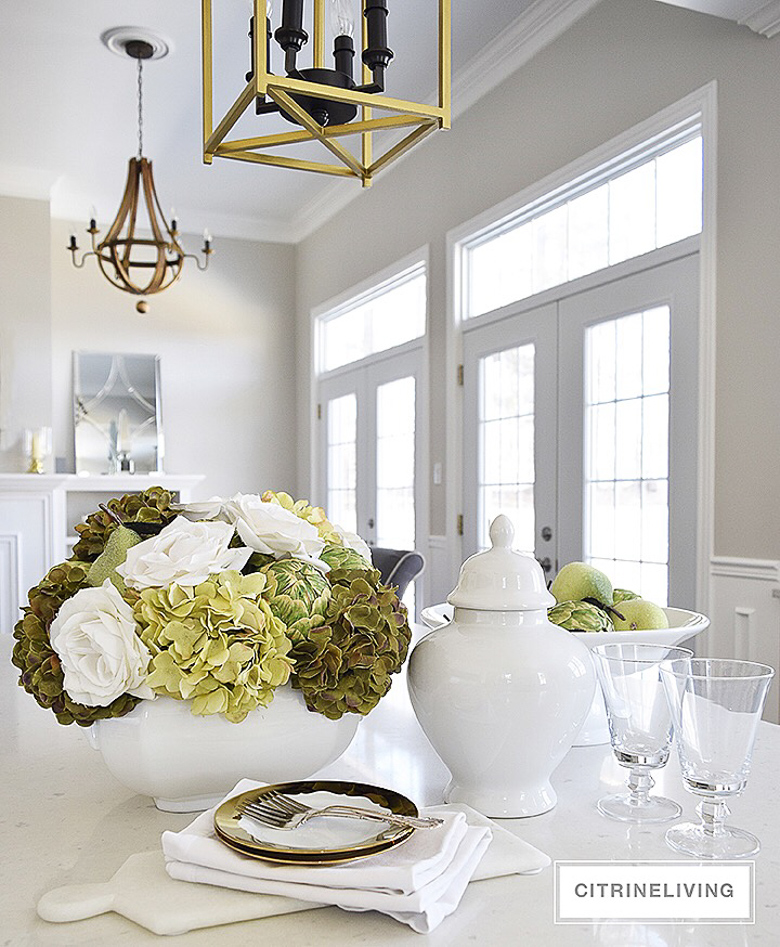 15 ways to style a white vase featuring Citrine Living