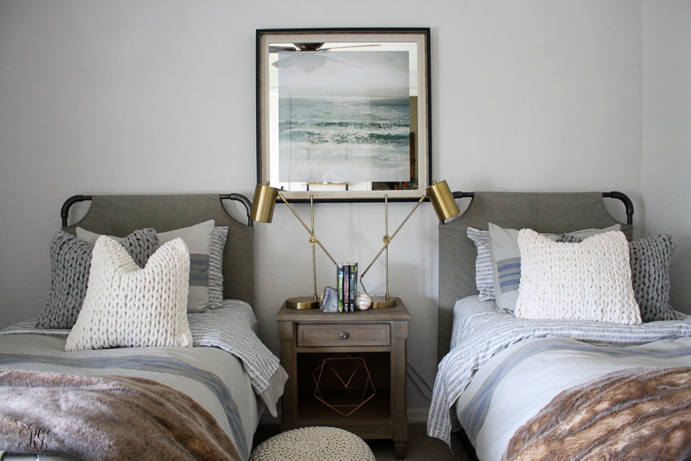 Teen Boy Bedroom Featuring Pure & Original Paint by Randi Garrett Design