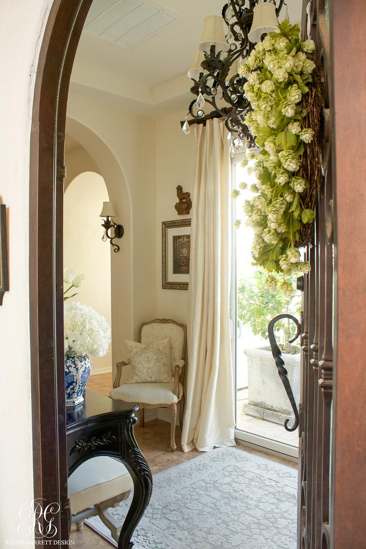 Spring Entryway by Randi Garrett Design