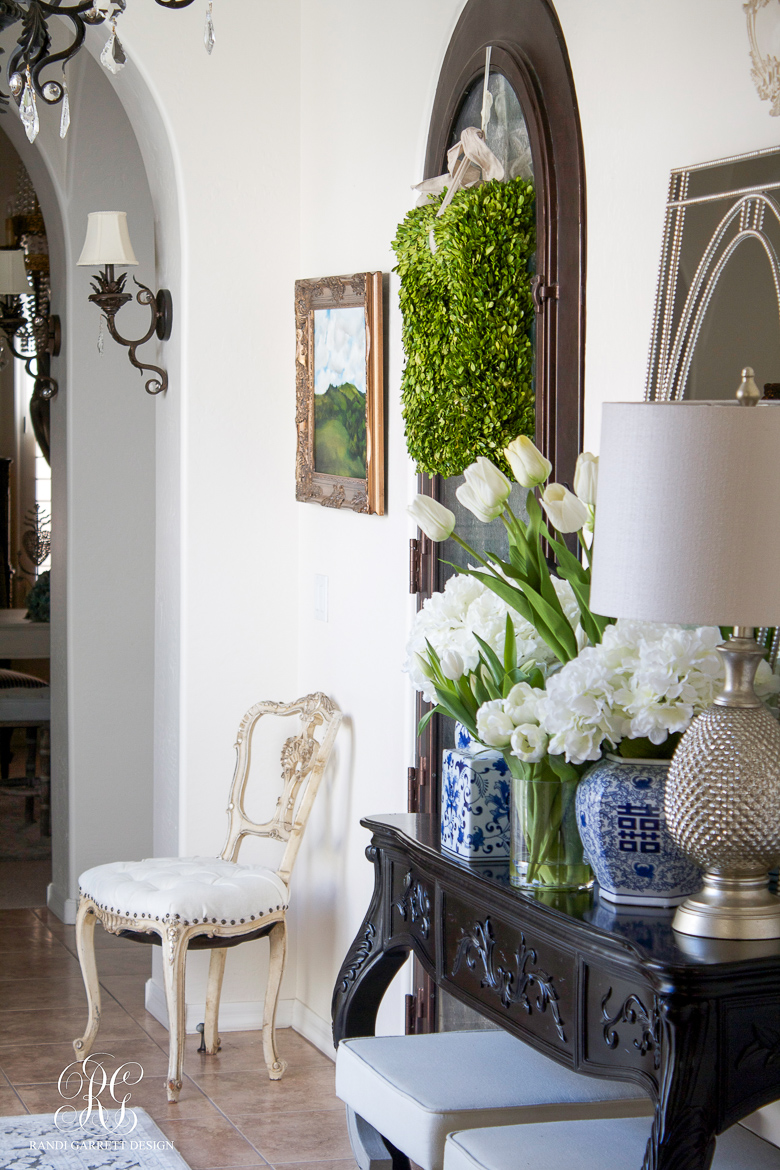 One Room Spring Tour Entryway by Randi Garrett Design