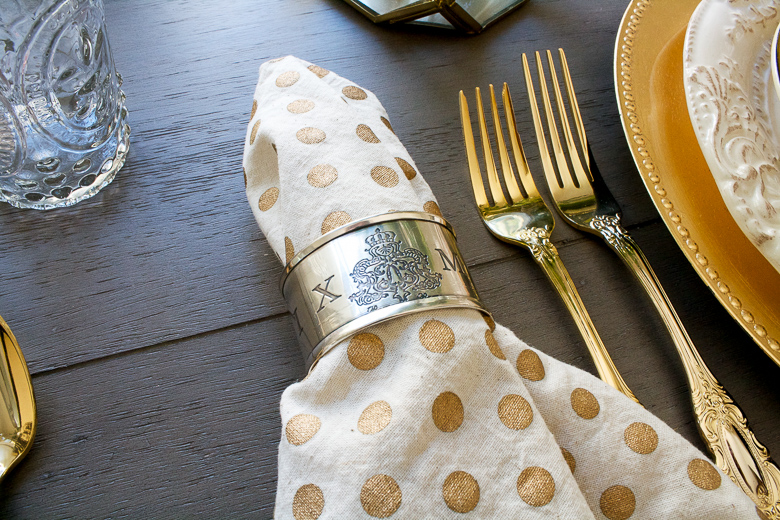 Chateau Napkin Rings from Pom Pom Home Randi Garrett Design