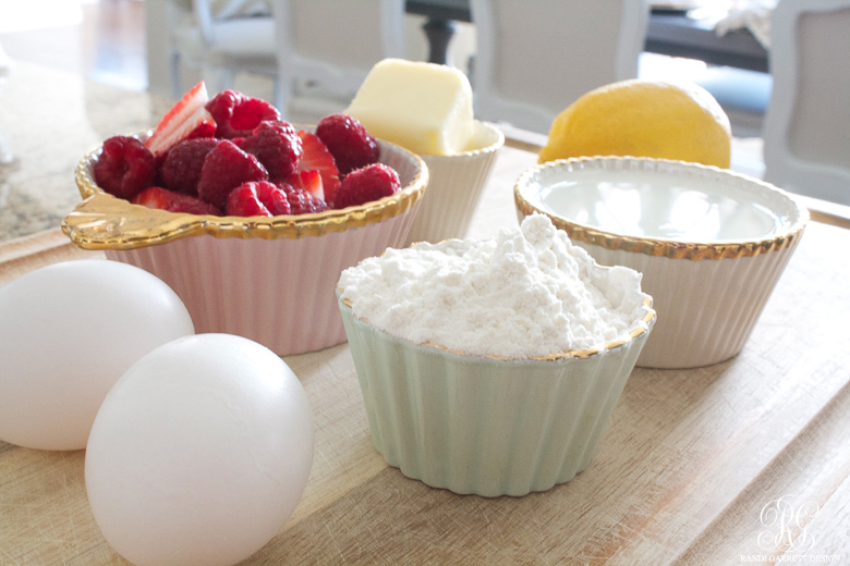 Ingredients for Sunday Family Pancake by Randi Garrett Design