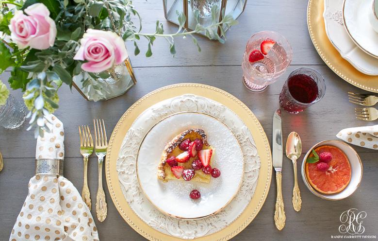 Mother's Day tablescape and brunch by Randi Garrett Design