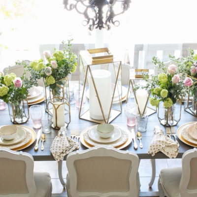 Mother's Day Tablescape and Brunch