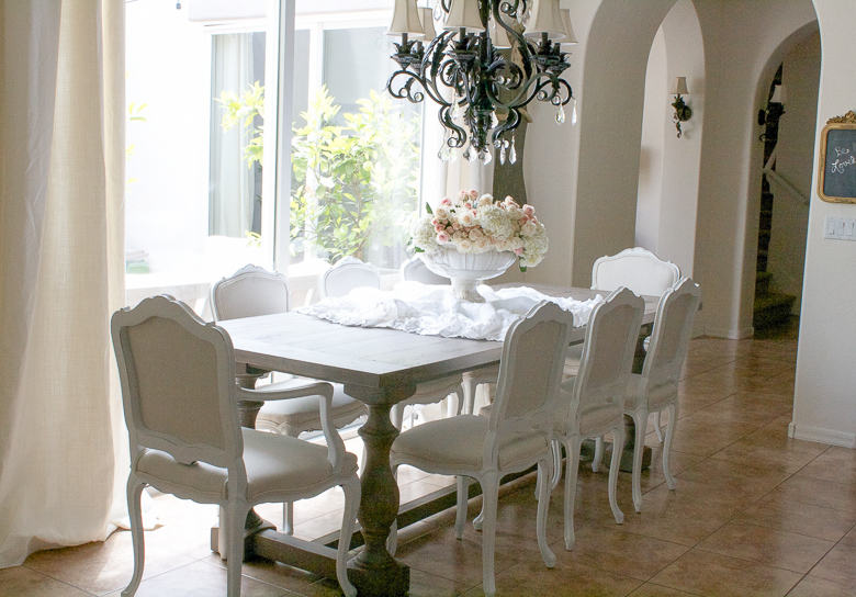 Transform Furniture With Paint For High End Design. Elegant Dining Table By  Randi Garrett Design