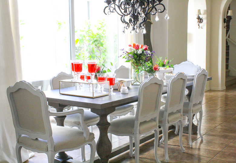 Easy elegant summer progressive dinner party