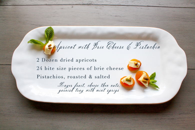 Apricot cheese appetizer recipe