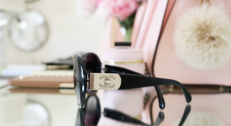 Channel sunglasses, summer purse essentials