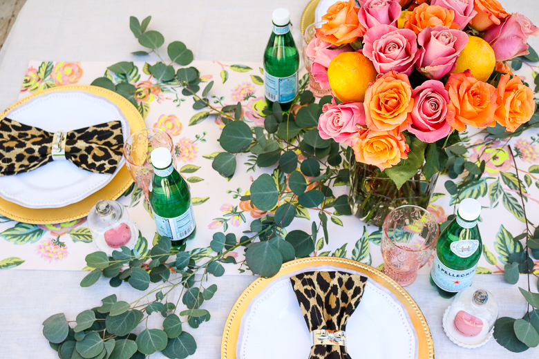 Bloggers Patio Party - Summer Tablescape