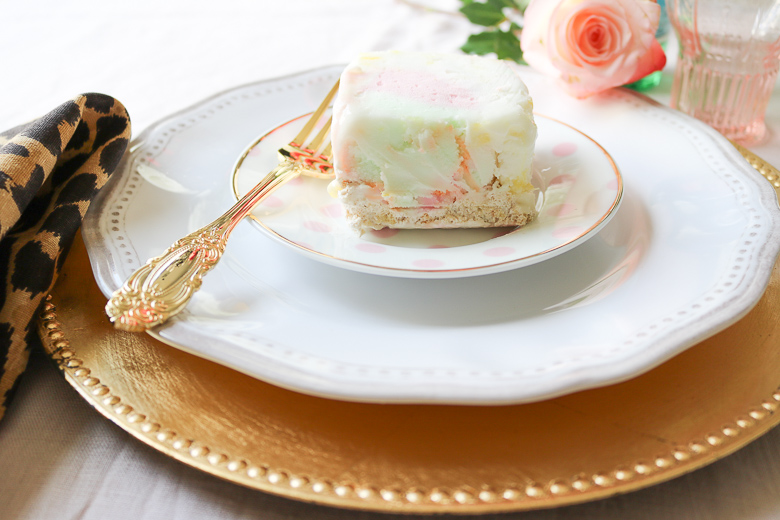 Coconut Sherbet Cake