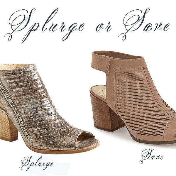 Fashion Friday- Splurge or Save Shoes