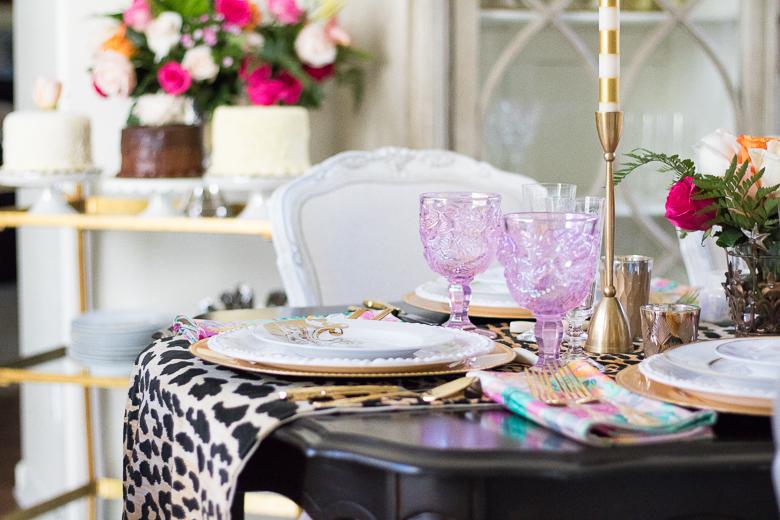 Tips for setting the ultimate dinner party table by Randi Garrett Design