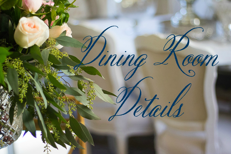Dining room details photo