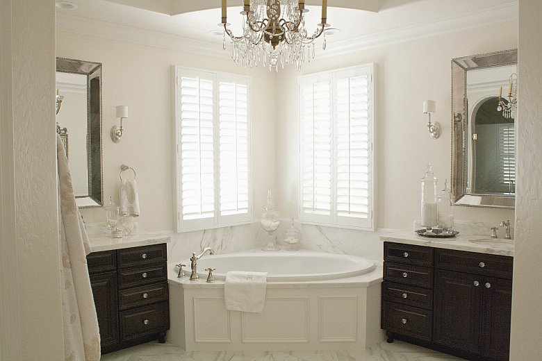 Elegant Master Bathroom After