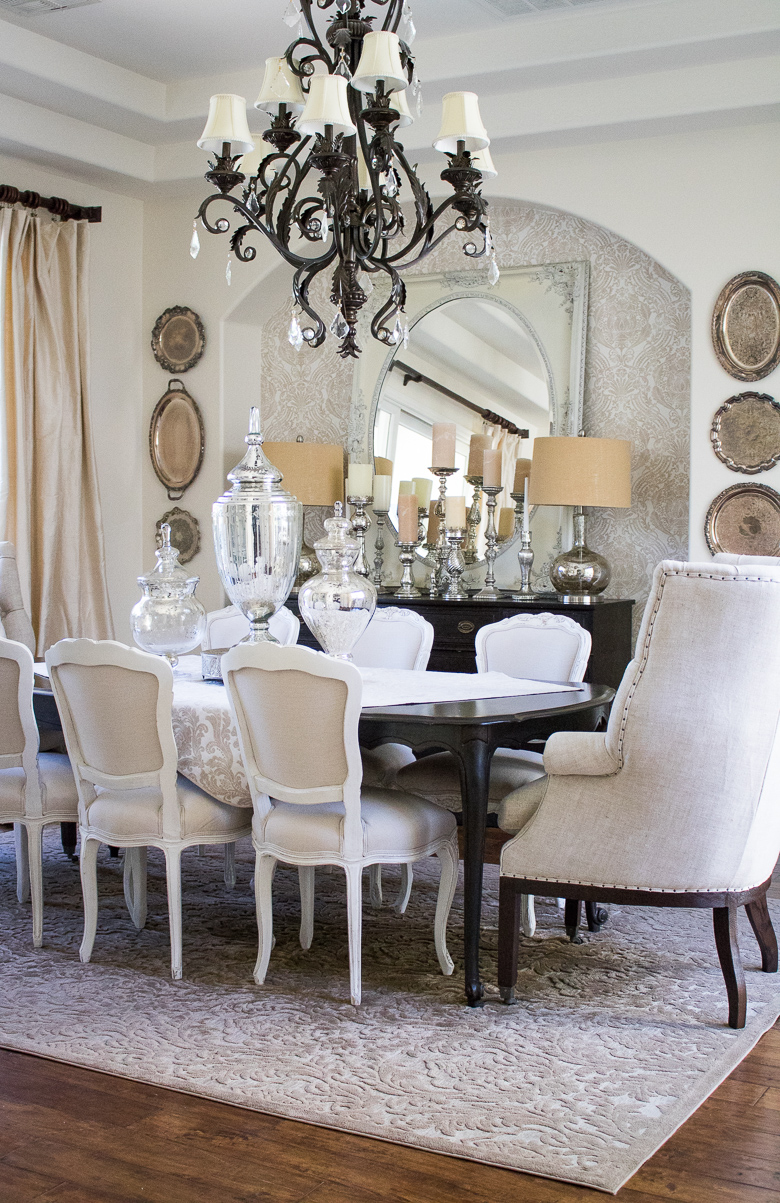 neutral dining room colors - dining room ideas