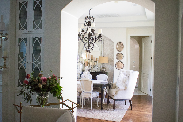 Elegant Dining Room By Randi Garrett Design
