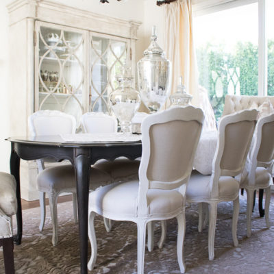 Why you Should use your Dining Room- Elegant Neutral Dining Room Tour