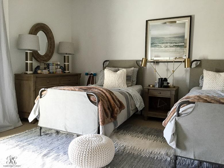 Gray Teen Bedroom