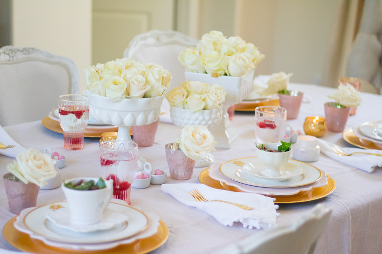 How to host a bake group, tablescape