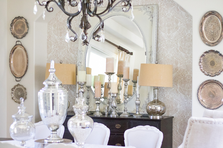 Why you should use your dining room elegant neutral dining room tour - Wonderful antique dining room ideas elegant supper time ...