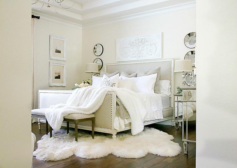 elegant-taupe-and-white-master-bedroom