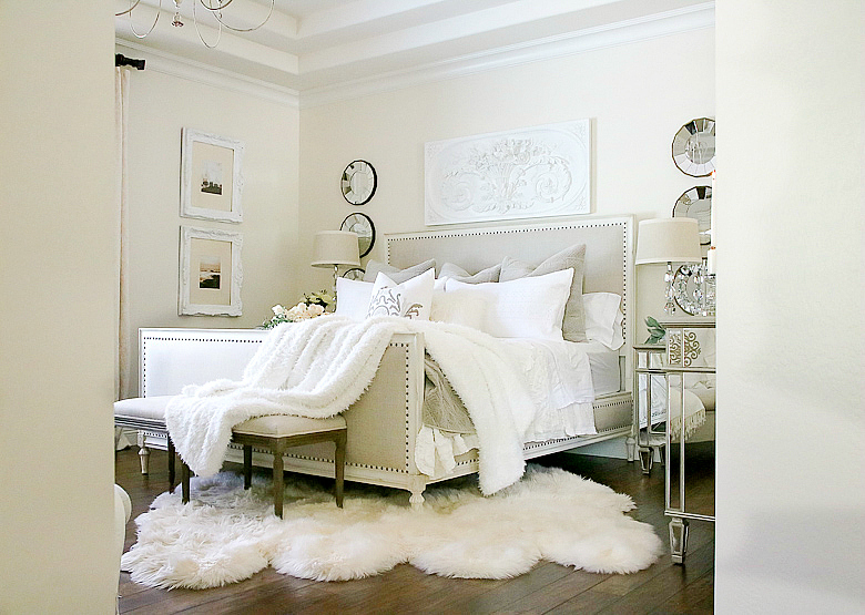 elegant-taupe-and-white-master-bedroom