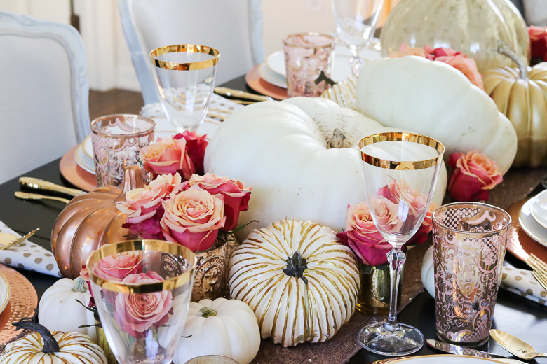 rose-gold-fall-table-centerpiece