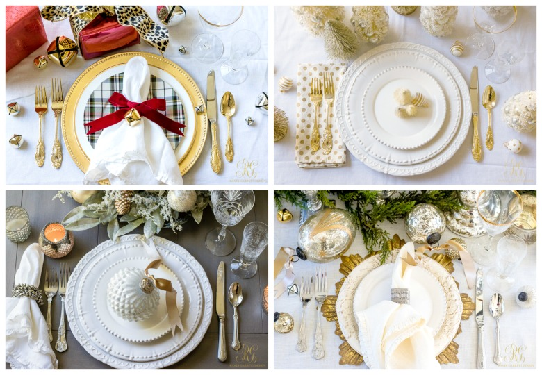 Christmas place setting ideas for the perfect christmas table Christmas place setting ideas