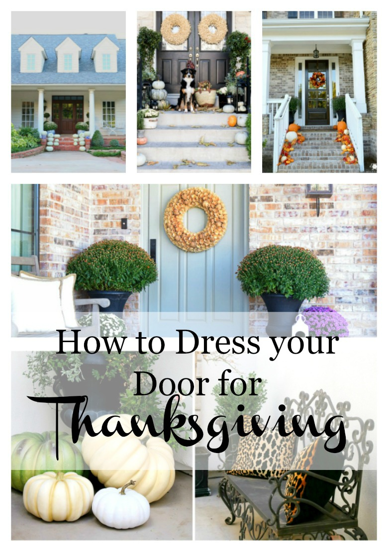 Beautiful Tips For Dressing Your Front Door For Thanksgiving