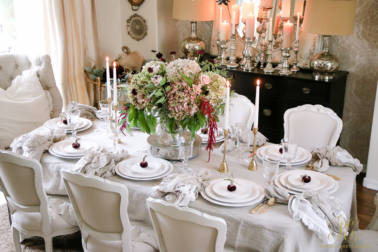 Traditional Thanksgiving Tablescape How To Dress Your Table