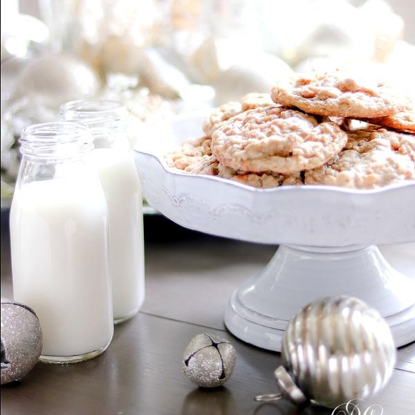 Christmas Bloggers Cookie Exchange – Orange Oatmeal Scotchie Recipe
