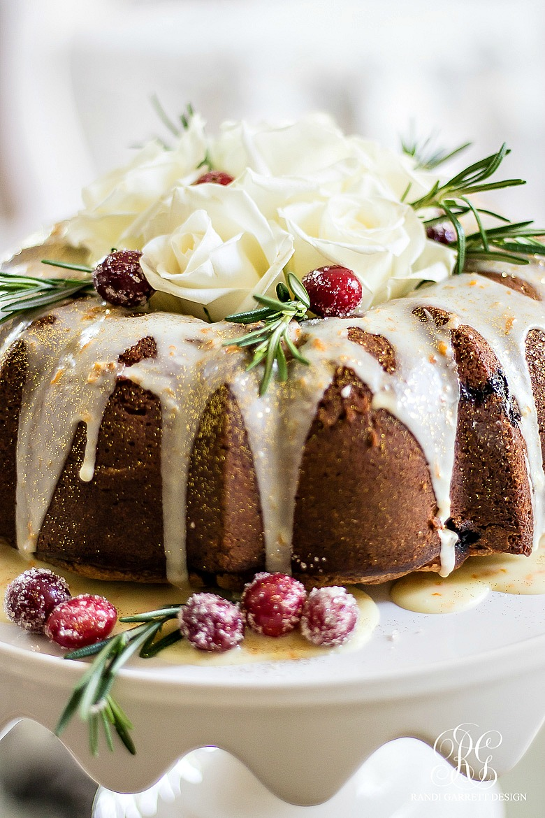 cranberry-bundt-cake -recipe-easy-elegant-christmas-dessert-