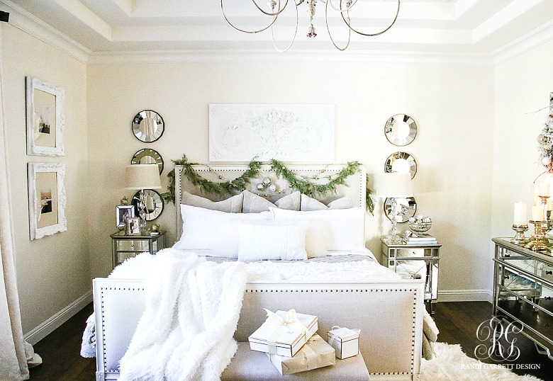deck-the-halls-christmas-home-tour-headboard-with-garland-and-ornaments