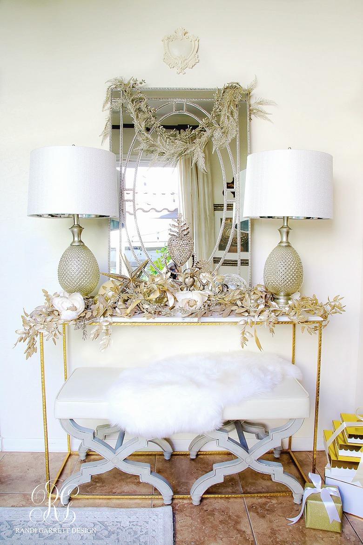 elegant-glam-christmas-entry-table-christmas-home-tour