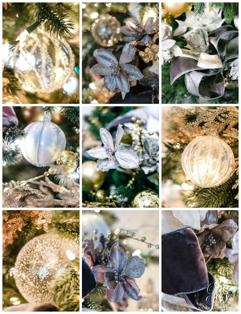 gray-and-gold-christmas-tree-ornaments-close-up