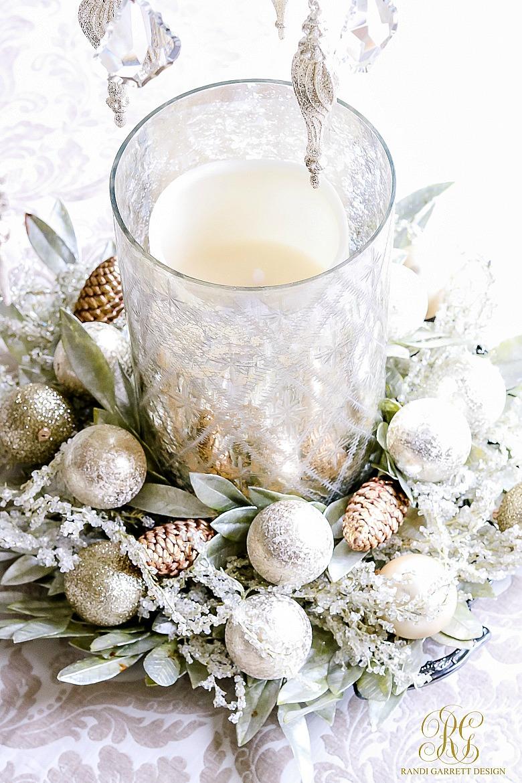 mercury-glass-hurricane-with-christmas-wreath