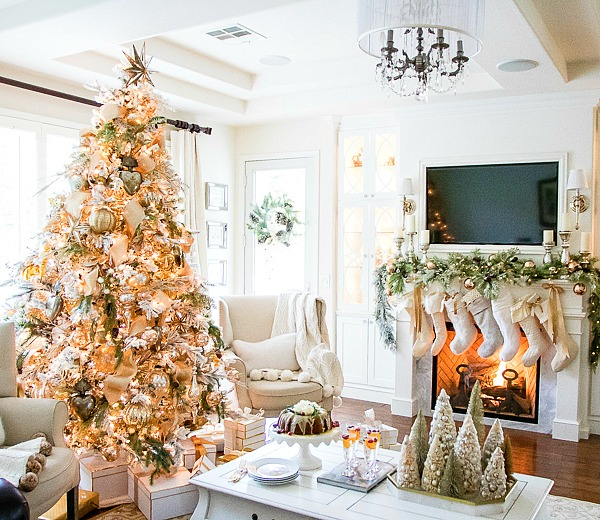 Christmas Progressive Dinner – Mom's Cranberry Bundt Cake – Orange Glaze