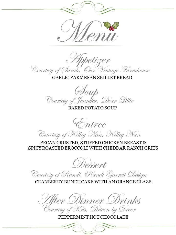 progressive-dinner-menu-christmas