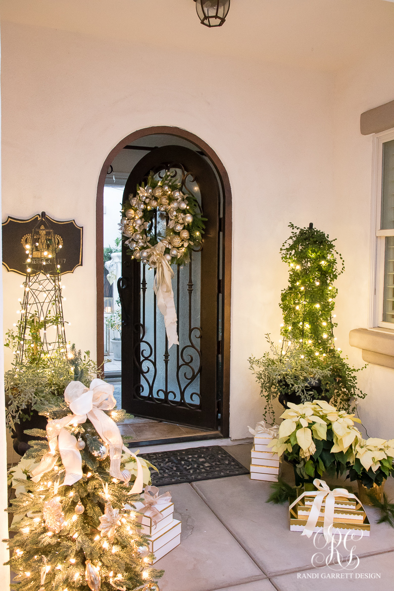 silver-and-gold-porch-christmas-decor