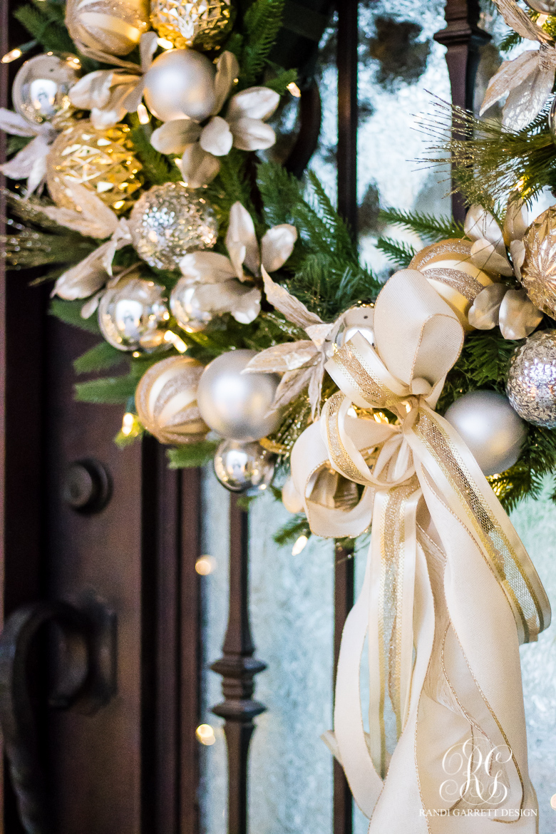 silver-and-gold-christmas-wreath-front-door
