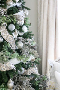 silver-and-white-christmas-tree-and-ornaments
